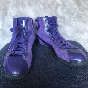 Puma x Sergio Rossi Sneakers From Italy Size 8.5